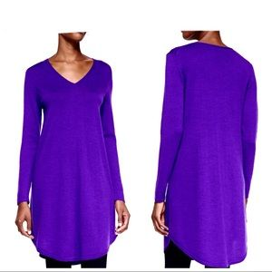 Eileen Fisher Merino Wool Sweater Dress Sz XL